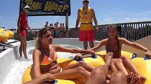 time warp water slide at noah u0027s ark waterpark youtube