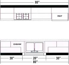 galley style kitchen floor plans galley kitchen floor plans 3 on with hd resolution 359x337 pixels