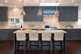blue kitchen cabinets kitchen eclectic with arched window blue