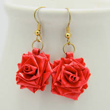 quilling earrings tutorial pdf free download paper craft earrings images coloring pages adult