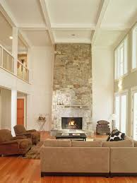 Two Story Family Room Houzz - Two story family room decorating ideas