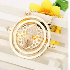 harry potter time necklace images C18 1pc gold hourglass harry potter time turner necklace hermione jpg