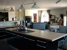 grande cuisine avec ilot central cuisine équipée avec ilot central 2017 et grande cuisine avec ilot