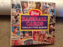 baseball photo album thrift treasures 93 the topps collectors album binder