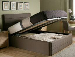 floor bed ideas bedroom ottoman that turns into ideas simple adorable room divider
