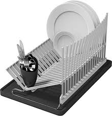 Space Saving Kitchen Sinks by Vremi Dish Drying Rack Collapsible Dish Rack And Drainboard Set