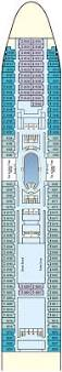 norwegian dawn floor plan pacific dawn cruise ship facilities p u0026o cruises