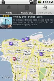 beirut on map hotels in beirut lebanon android apps on play