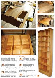 narrow book shelves plans u2022 woodarchivist