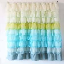 Ruffled Shower Curtain Ruffle Shower Curtain