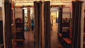Fitting Room Curtains Favorite Thing New Dressing Room Curtains Auntie Kate The