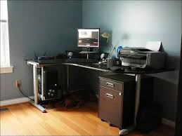 furniture ikea secretary desk glass computer table ikea black