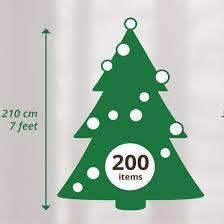 7ft everlands frasier pine artificial tree