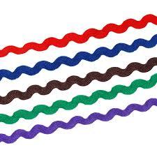rick rack ribbon aliexpress buy doreenbeads 5 colors 8mm 3 8 terylene