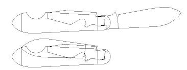 Printable Knife Templates Order Your 2011 Forum Knife Here Bladeforums Com