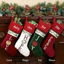 expression christmas stockings