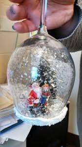 wine glass snow globes another craft completed wine glass snow globes i got
