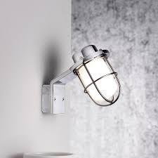 bathroom light chrome