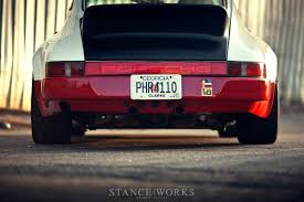 porsche 911 sc exhaust stance works magnus walkers 78schr budget porsche 911sc build