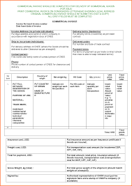 example commercial invoice fumigation invoice template commercial payment terms best images