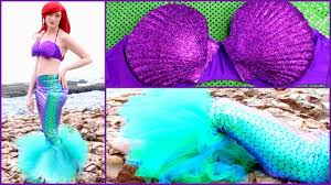 mermaid tails for halloween diy ariel halloween costume disney u0027s the little mermaid mermaid