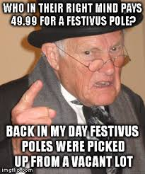 Happy Festivus Meme - festivus imgflip