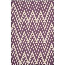 purple accent rugs safavieh cambridge purple ivory 4 ft x 6 ft area rug cam125k 4