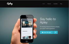 35 best mobile app landing page templates webdesignerhub