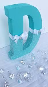 tiffany blue theme tiffany blue glitter letter aqua glitter
