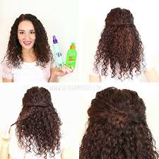 how to choose easy hairstyles for curly hair yasminfashions