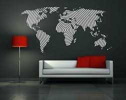 wall ideas art print oil painting globe decoration painting home