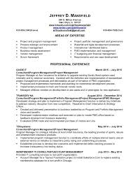 Pmo Cv Resume Sample pmo and it portfolio manager resume jeffrey mansfield 26 oct2015