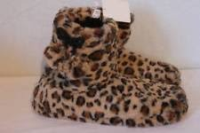 Bedroom Shoes For Womens Animal Print Booties Synthetic Slippers For Women Ebay