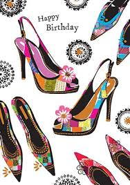 birthday cards with shoes happy birthday shoes card funky pigeon