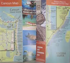 Cancun Mexico Map by Playa Del Carmen Cancun Cozumel Vacation Review Attractions Maps