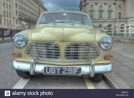 classic volvo sedan vintage volvo car 1960s volvo classic car in london stock photo