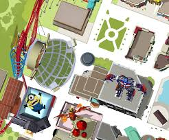 Universal Park Orlando Map by Transformers The Ride 3d Universal Studios Florida