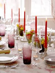 Fine Dining Table Set Up by Restaurant Dining Table Decoration