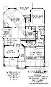 craftsman style house floor plans rosemary cottage house plan house plans by garrell associates inc
