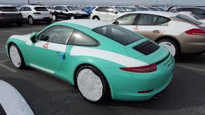 porsche 911 green 2016 porsche 911 carrera mt gts u2013 pts mint green rennlist
