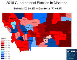2016 Election Map What To Watch For In Montana U0027s Special Election U2013 Mci Maps
