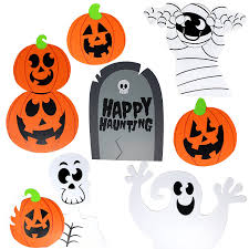 Cute Halloween Yard Stakes by Amazon Com Spooktacular Creations Halloween Decorations Outdoor