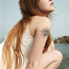 compass tattoo under breast compass tattoos sticker for girls waterproof rhinestone breast