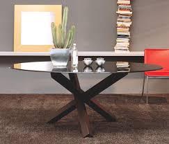 tavolo ovale legno tavolo in legno tavolo atene tavolo con base in legno bicolore