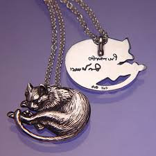 cat necklace images Leonardo da vinci sleeping cat necklace shop jpg&a