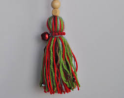 tassel ornaments etsy