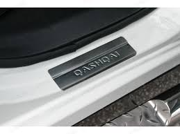 nissan qashqai wheel arch trim nissan qashqai 2014 on stainless steel door sill covers 4x4