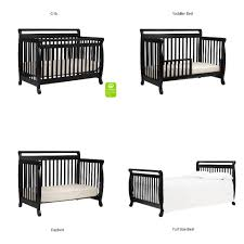 Convertible Crib Full Size Bed by Davinci Emily 4 In 1 Convertible Crib Ebony Toys