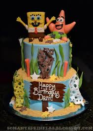 spongebob birthday cake 179 best cakes spongebob squarepants images on