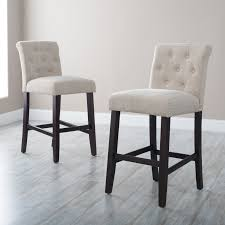 furniture stunning bar stools counter height for kitchen morgana tufted bar stools counter height in grey for home furniture ideas